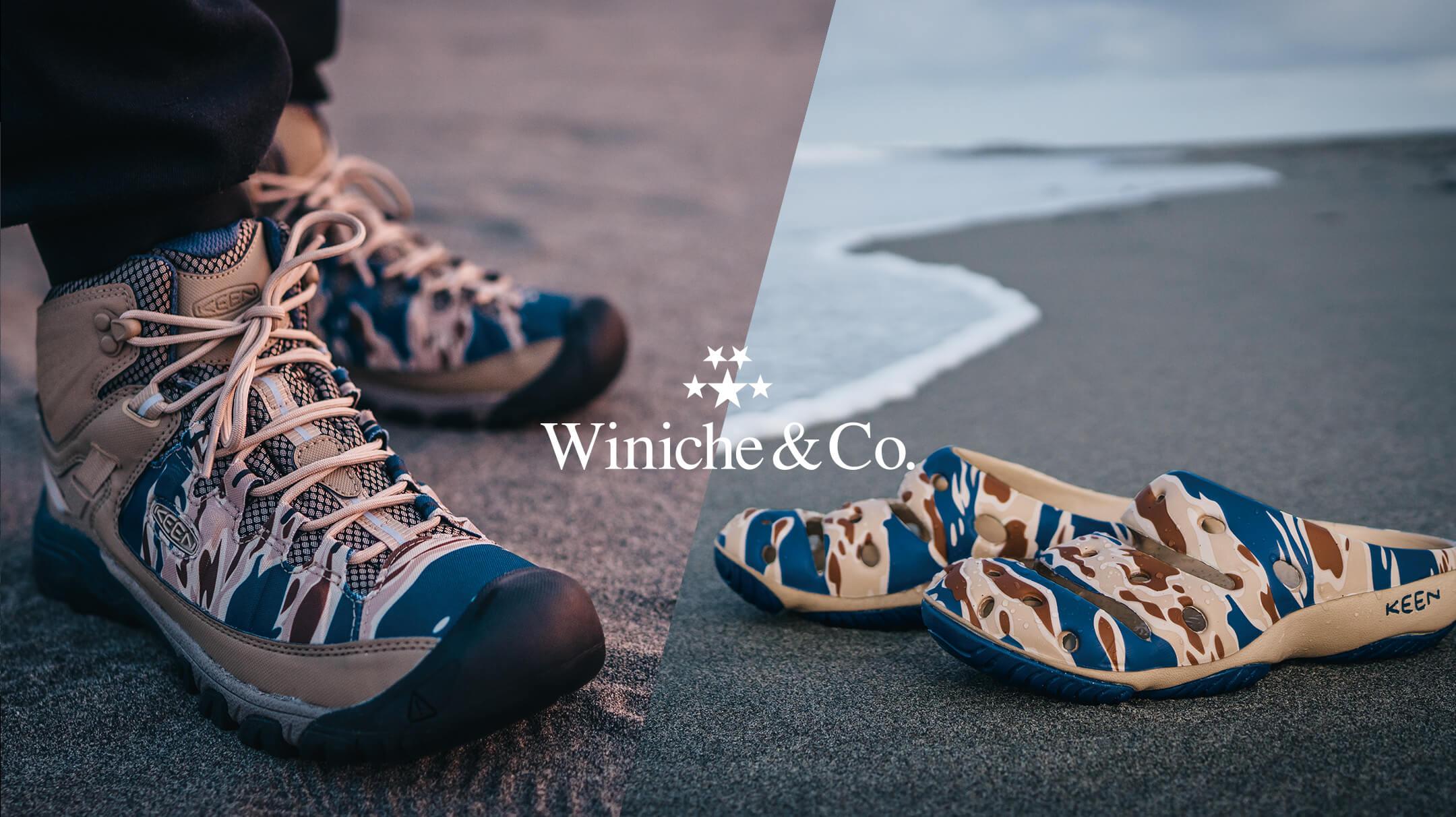 あらゆるロケーションにフィットする、KEEN × Winiche & Co.のコラボレーションパック。